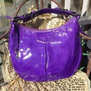 Dooney & Bourke Purple Luisa Patent leather Purse